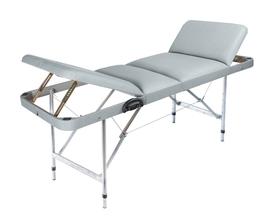 Макс 60+ Складной массажный стол  с 2 регулируемыми спинками, регулировкой по высоте и отверстием для лица