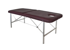 Эконом 70/75+ Складной массажный стол с вырезом для лица