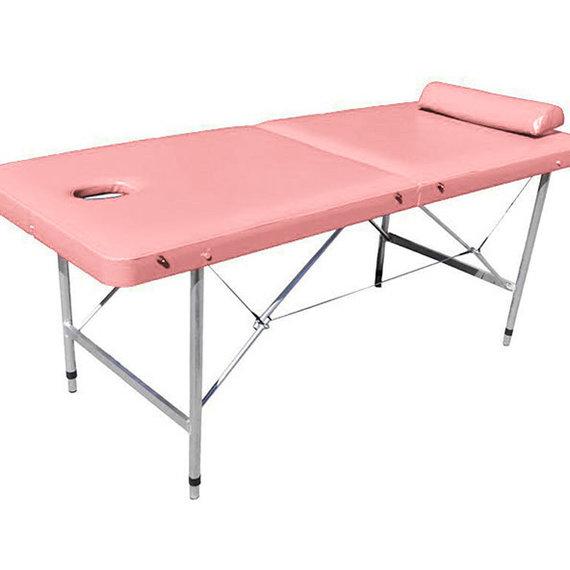 Детский 60 Стол для массажа с вырезом для лица (люверс для лица) ирегулировкой высоты длина 1600мм
