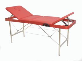 Макс 60/75 Складной массажный стол, с двумя регулируемыми спинками и отверстием для лица