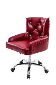 Кресло с спинкой и подлокотником,  для косметолога массажиста хромированный