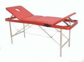 Макс 60/70 Складной массажный стол, с двумя регулируемыми спинками и отверстием для лица