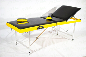 Профи 60+ Стол с регулировкой высоты, регулируемой спинкой и отверстием для лица