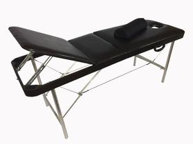 Профи 70/70 Складной массажный стол с подъемной спинкой и вырезом для лица