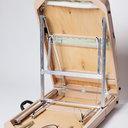 Люкс 70/70+ (41)Складной массажный стол с подъемной спинкой и подъемом ног,  4-секционный, с отверстием для лица. Размер для расчета в транспортной компании Ш/Д/В 20/95/73см. вес 18кг.