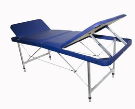 Макс 70+ Складной массажный стол с 2 регулируемыми спинками, регулировкой высоты и отверстием для лица