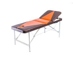 Профи 70/75 Складной массажный стол с подъёмной спинкой и вырезом для лица