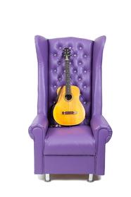 Кресло-трон для педикюра с высокой спинкой