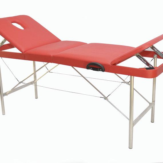 Макс 70/75 Складной массажный стол, с 2 регулируемыми спинками и отверстием для лица